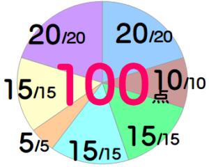 モッピー:100点
