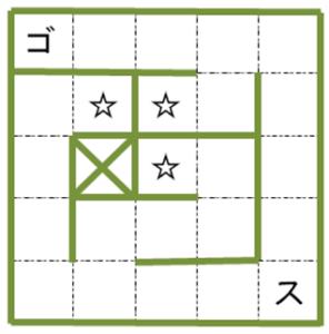 マップ(コケのステージ)